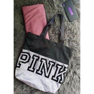 VS | Pink tote bag